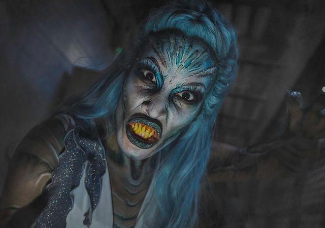 Halloween no SeaWorld Orlando em 2021