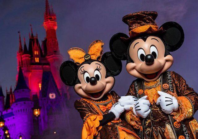 Halloween na Disney Orlando em 2021