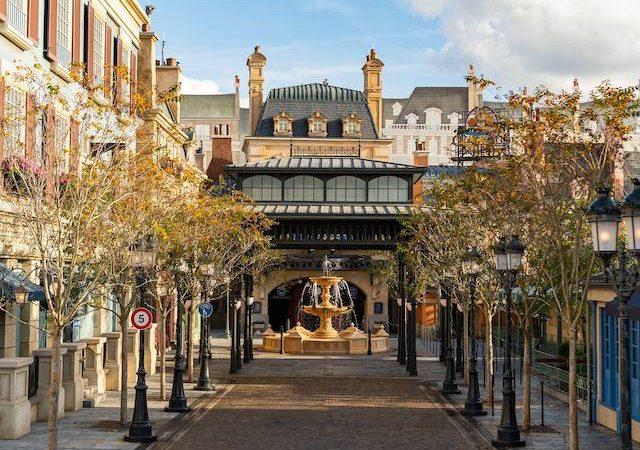 Expansão do Pavilhão da França no Epcot da Disney Orlando