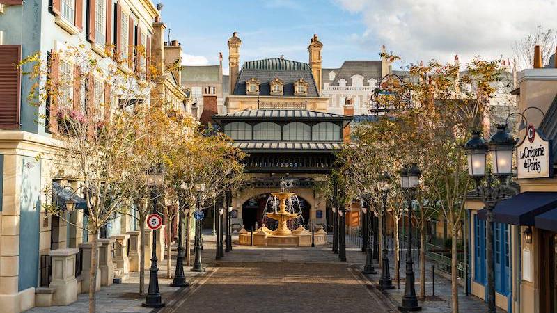 Área de Ratatouille no Pavilhão da França no Epcot da Disney Orlando
