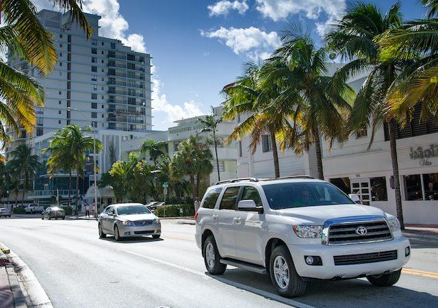 Como andar em Miami
