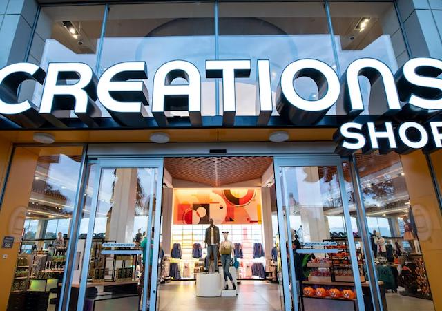 Creations Shop no Epcot da Disney Orlando