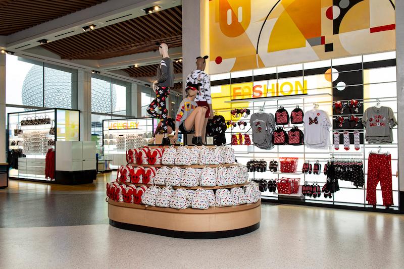 Interior da Creations Shop no Epcot da Disney Orlando