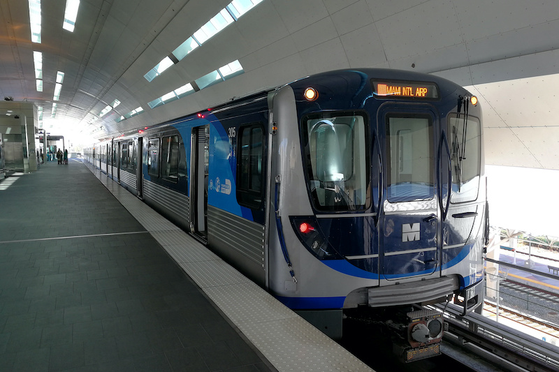 Metrô Metrorail em Miami