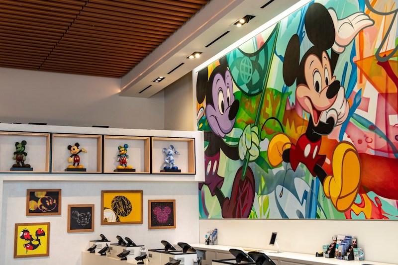 Mickey Mouse na Creations Shop no Epcot da Disney Orlando