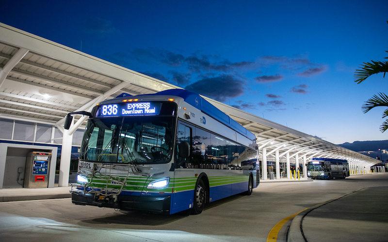 Ônibus Metrobus em Miami