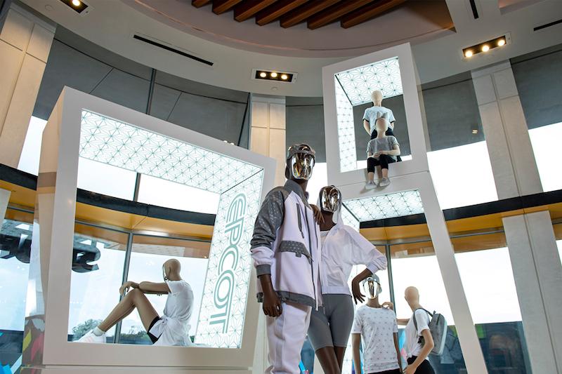 Produtos na Creations Shop no Epcot da Disney Orlando