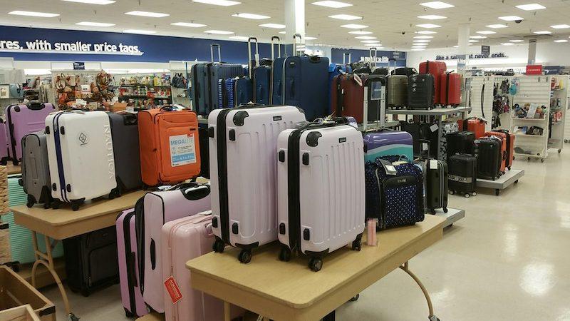 Malas na loja Target em Miami