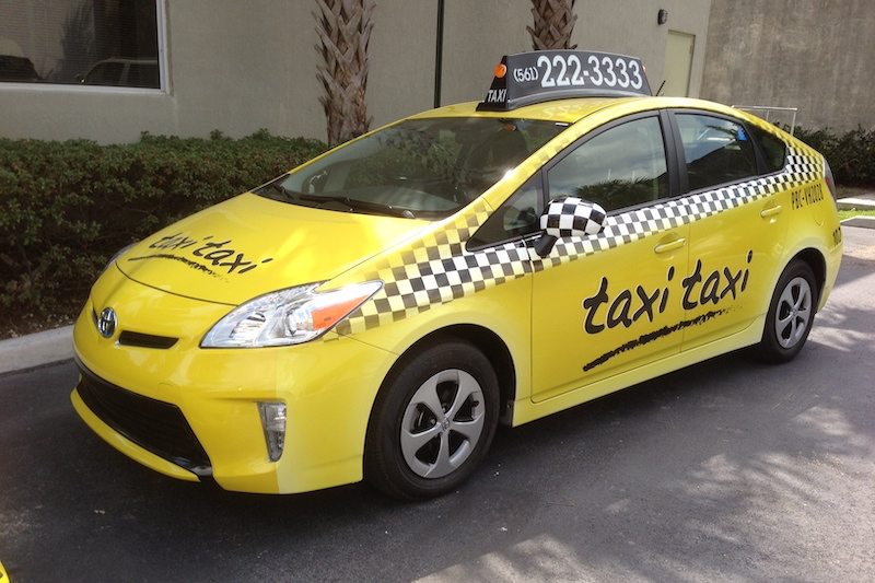 Táxi em Boca Raton