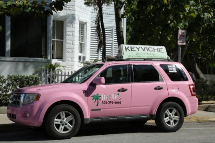 Táxi em Key West