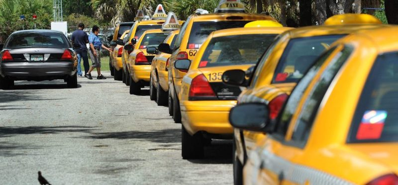 Táxis em Tampa
