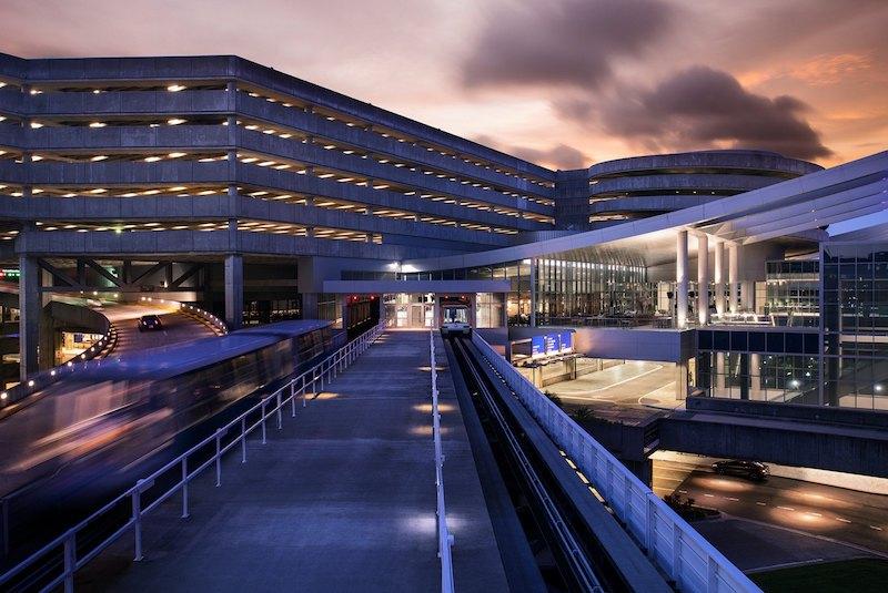 Terminal no aeroporto de Tampa